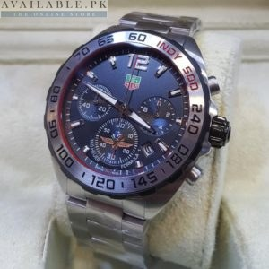 Tag Heuer Black Dial Indy 500 F1 Sporty Edition Men Watch Price In Pakistan
