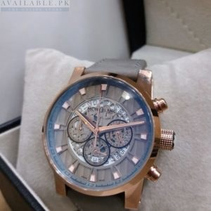 Montblanc Copper Bezel Chronograph Men's Watch Price In Pakistan