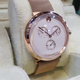 Movado Rose Gold Chronograph Men's Watch Price In Pakistan