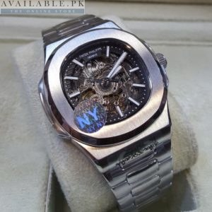 Patek Philippe Nautilus Naked II Body Silver His Watch Price In Pakistan
