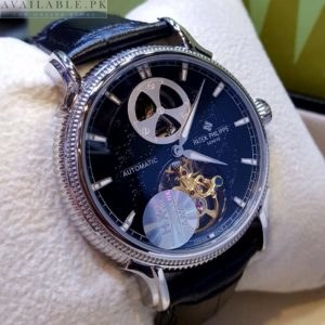 Patek Philippe Goden Chain Display Date Men's Watch Price In Pakistan