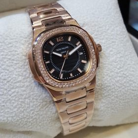 Patek Philippe Golden Nautilus Golden Dial & Date Women's Watch price in pakistan