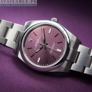 Rolex Oyster Perpetual Silver Men's Watch Price In Pakistan