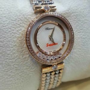 Chopard Hover Dial With Stones Women's Watch Price In Pakistan