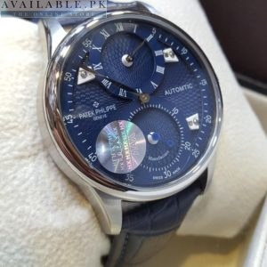 Patek Philippe Blue Grand Complex Distant Hands Men's Watch Price In Pakistan