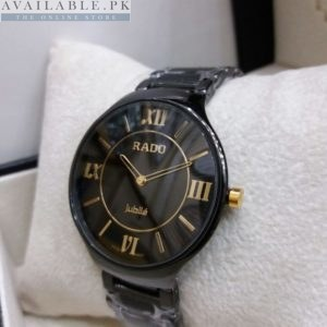 Rado Jubilee Roman Figures Black Men's Watch Price In Pakistan
