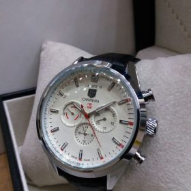 Tag Heuer Chronograph Edition 3 White Dial Men's Watch Price In Pakistan