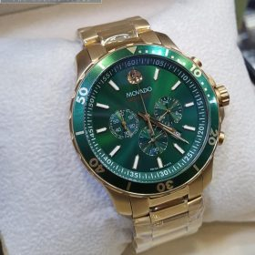 Movado Series 800 Gold Green Chronograph Men's Watch Price In Pakistan