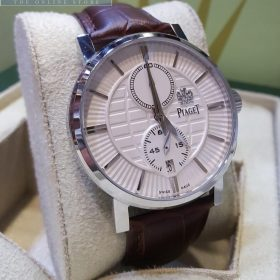 Piaget Polo Stainless Bezel With Genuine Leather Belt Men's Watch Price In Pakistan