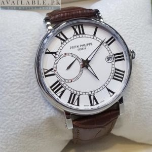 Patek Philippe Roman Figure Side Second Men's Watch Price In Pakistan
