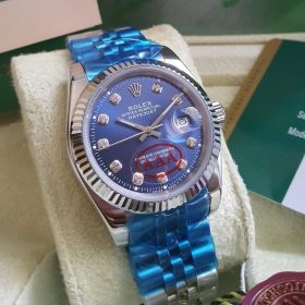 Rolex Oyster Perpetual Date Just Persian Blue His Watch Price In Pakistan