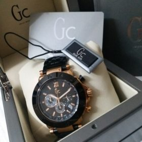 Guess Chronograph Black And Copper Men's Watch Price In Pakistan