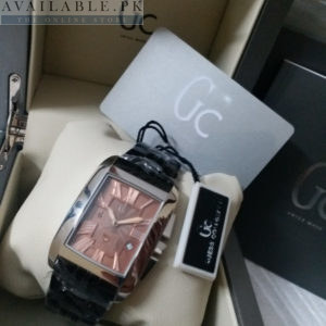 Guess Square Frame Roman Digits Men's Watch Price In Pakistan