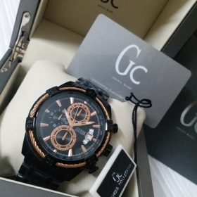 Guess Black Chronograph Copper CableForce Watch Price In Pakistan