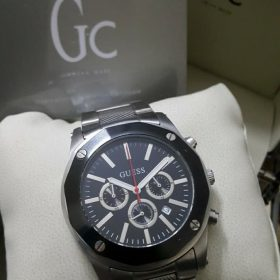 Guess GC Black Chronograph Red RunTime Men Watch Price In Pakistan