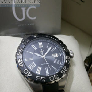 Guess Gc GMT Dual Tone Roman Digits Men Watch Price In Pakistan