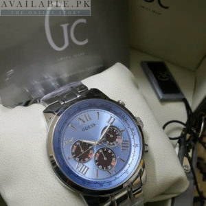 Guess Gc Candy Blue Chronograph Dial Men Watch Price In Pakistan