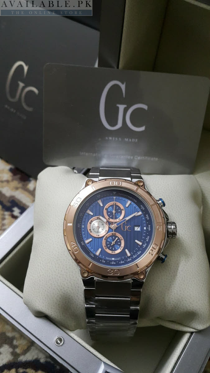 a9a709ada96 Guess Gc Sport Class XXL TachyMeter Chronograph Men Watch