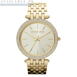 Darci Glitz Gold Dial Pave Bezel Her Watch MK3191 Price In Pakistan