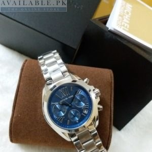 Michael Kors Blue Dial Silver Men's Watch MK-6174 Price In Pakistan