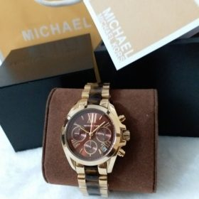 Michael Kors Brown Dial Dual Tone His Watch MK-5798 Price In Pakistan