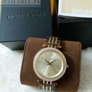 Michael Kors Women's Darci Dual Tone Watch MK3191 Price In Pakistan