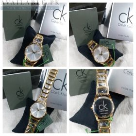 CK Cheers Silver Dial Her Watch Price In Pakistan