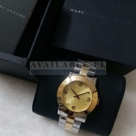 Marc Jacobs Mini Amy Gold Dial Her Watch Price In Pakistan