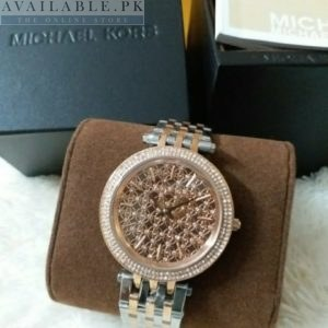 Michael Kors Women's Darci Dual Tone Watch MK3399 Price In Pakistan