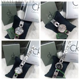 Calvin Klein Dainty Silver Dial & Strap Her Watch Price In Pakistan