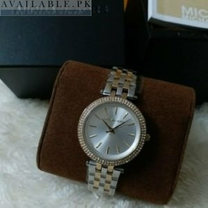 Michael Kors Darci Dual Tone Silver Dial Watch MK3203 Price In Pakistan
