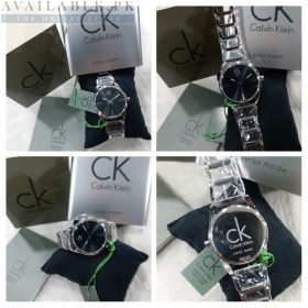 Calvin Klein Dainty Black & Silver Her Watch Price In Pakistan