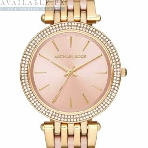 Michael Kors Darci Pink Peach Dial Watch MK3507 Price In Pakistan