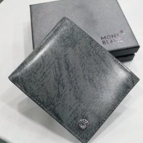 Mont Blanc Swamp Grey Textured Men's Wallet Price in Pakistan