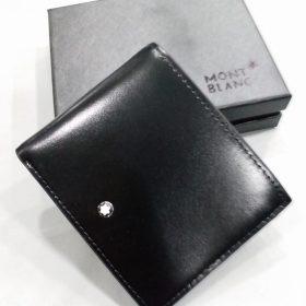 Mont Blanc Pure Black Men's Wallet Price in Pakistan