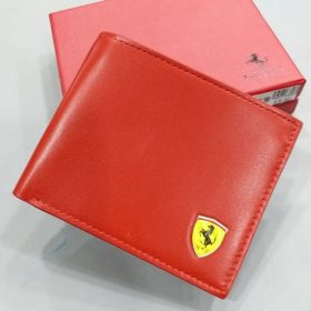 Red Official Color Ferrari Men's Wallet Price in Pakistan