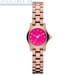 Marc Jacobs Mini Amy Pink Dial Watch MBM3203 Price In Pakistan