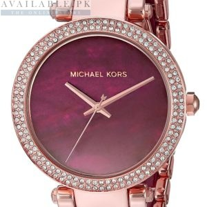 Michael Kors Parker Purple Dial MK6412 Price In Pakistan