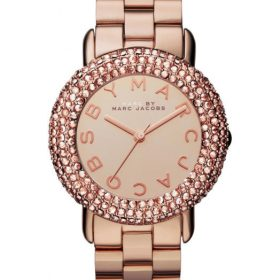 Marc Jacobs Rose Gold Swarovski Marci Watch MBM3192 Price In Pakistan