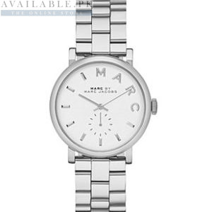 Marc Jacobs Baker White Silver Women's Watch Price In Pakistan