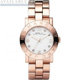 Marc Jacobs Mini Amy Silver Dial Her Watch Price In Pakistan