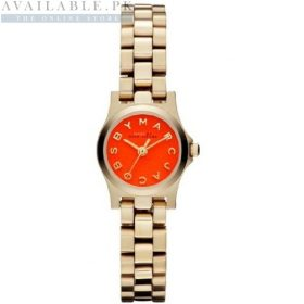 Marc Jacobs Mini Amy Red Orange Dial Watch Price In Pakistan