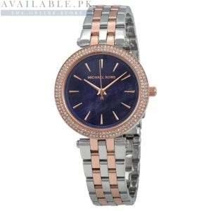 Michael Kors Mini Darci Blue Mother of Pearl Dial Price In Pakistan