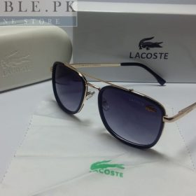 Lacoste Retro Squared Dual Black Deep Frame Sunglasses Price In Pakistan
