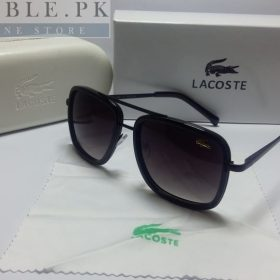 Lacoste Retro Squared Complete Black Night Sunglasses Price In Pakistan
