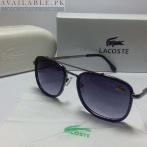 Lacoste Retro Squared Purple Silver Frame Sunglasses Price In Pakistan