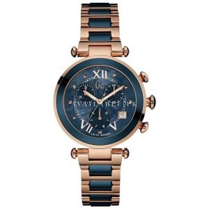 GC Navy Blue Analog-Chronograph Women's Watch Y05009M7 Price In Pakistan