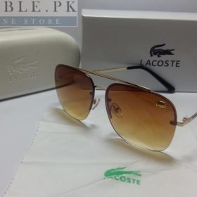 Lacoste Retro Squared Shaded Brown Brown Sunglasses Price In Pakistan