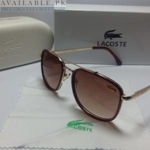 Lacoste Retro Squared Dark Brown Sunglasses Price In Pakistan