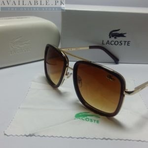 Lacoste Retro Squared Dual Brown Sunglasses Price In Pakistan